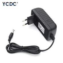 Practical Power Supply DC 12V 3A Adapter AC 100V-240V To 12 V Charger UK/AU/US/EU Plug Black ABS Shell