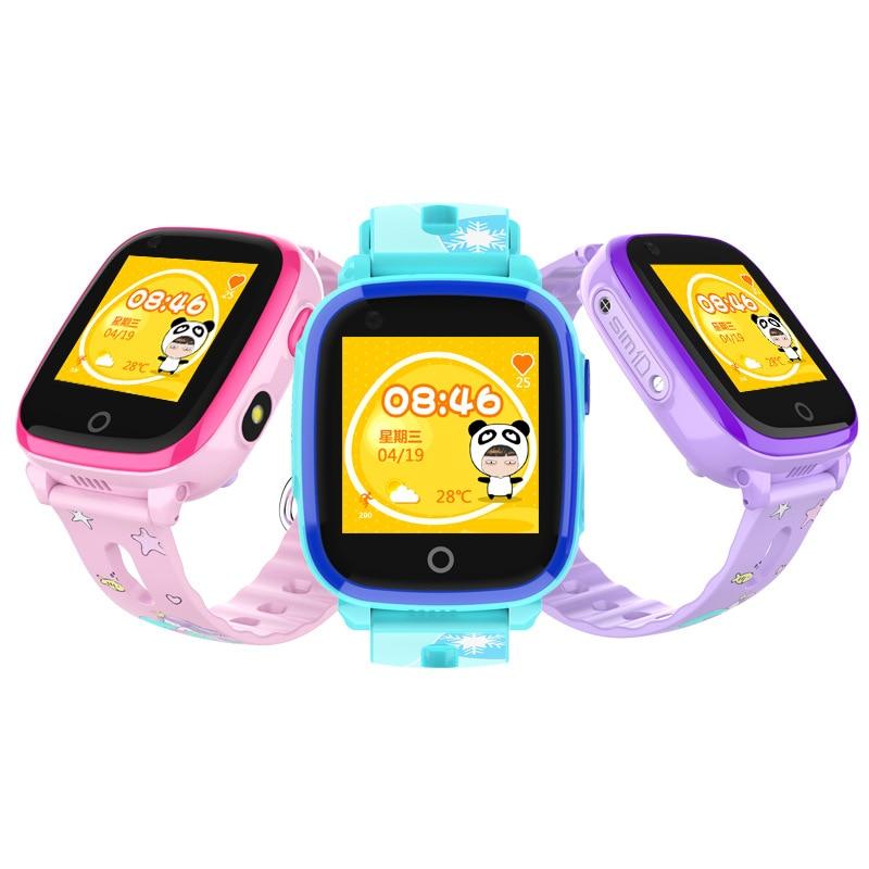 DF33 Smart watch 4G WIFI IP67 Waterproof GPS Children Baby Phone Watch Cute SOS Location Tracker LBS Kids Safe Area