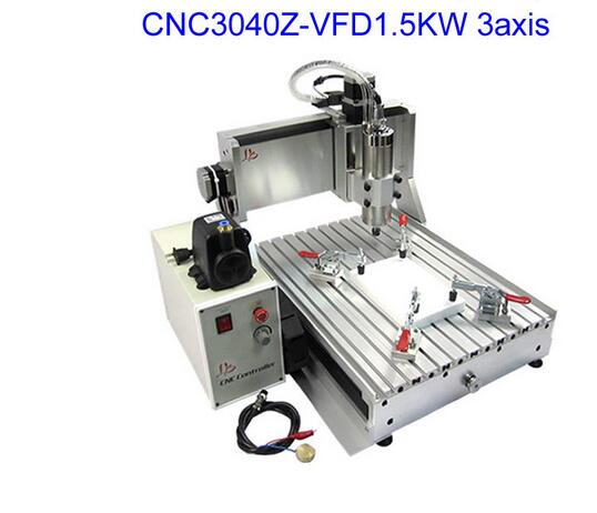 LY 3040Z-VFD1.5KW  CNC Router Engraving Machine , cnc milling machine dali opticon 5 walnut