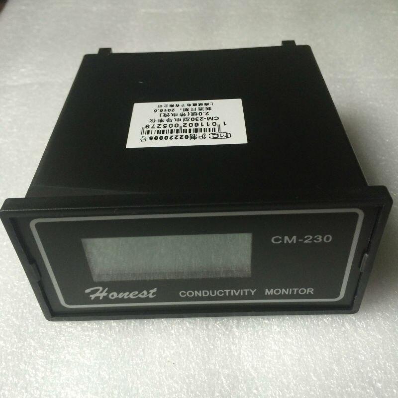 CM-230 Conductivity meter with 4-20mA current signal Conductivity Monitor electric conductivity rate instrument 0-2000us/cm ATC i o 4 20ma electric actuators