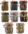 High Quality Outdoor Sports Hiking Camping Tactical Gadget Pocket Dump Pouch Phone Bag Tool Case Small Belt Pack Easy Bag 5inch