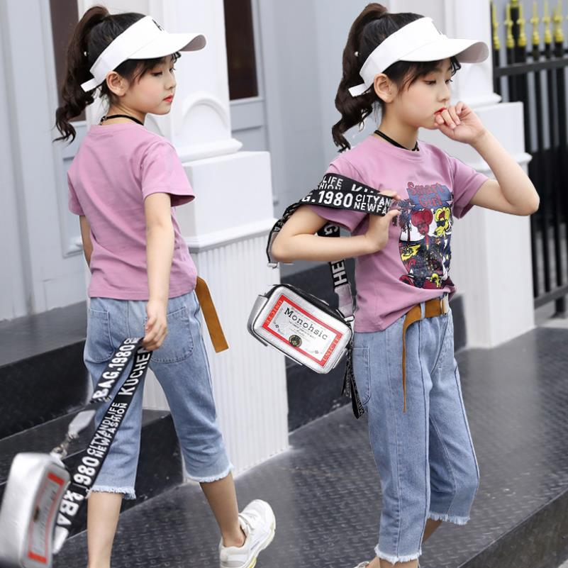 Summer time2019 Women Clothes Set Cotton T-shirt+Denim shorts Garments Set For Lady Outfits 3-12T Teenager Sports activities Fits Children Tracksui Aliexpress, Aliexpress.com, On-line procuring, Automotive, Telephones & Equipment, Computer...