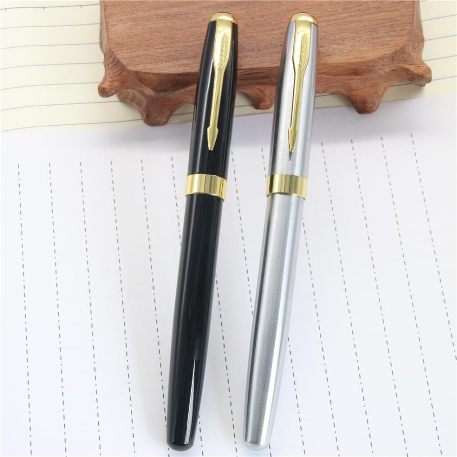 Baoer 388 High Quality Silver And Black Clip Roller Ball Pen Business & School Supplies Hot Gel Pen Material Escolar assassin s creed истоки origins [ps4]