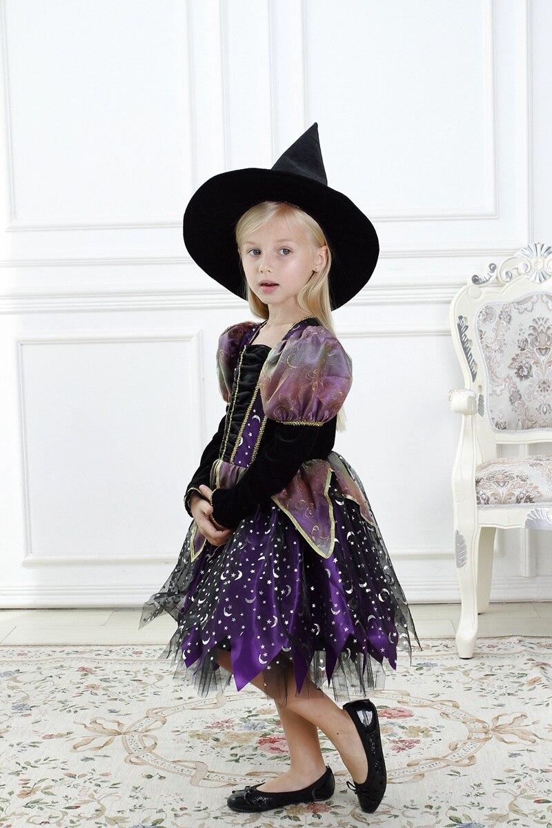 Aliexpress.com : Buy Girls Pretty Witch Halloween Fancy Dress ...