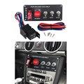Автомобильный переключатель 12 В  переключатель зажигания  панель запуска двигателя  кнопочный переключатель из углеродного волокна  3 Пане...