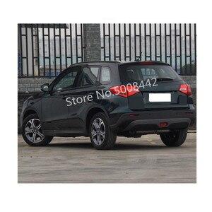 Image 4 - For Suzuki Vitara 2016 2017 2018 2019 2020 Car Cover Inside Outside Inner Rear Bumper Tailgate Pedal Strip Trim Plate Threshold
