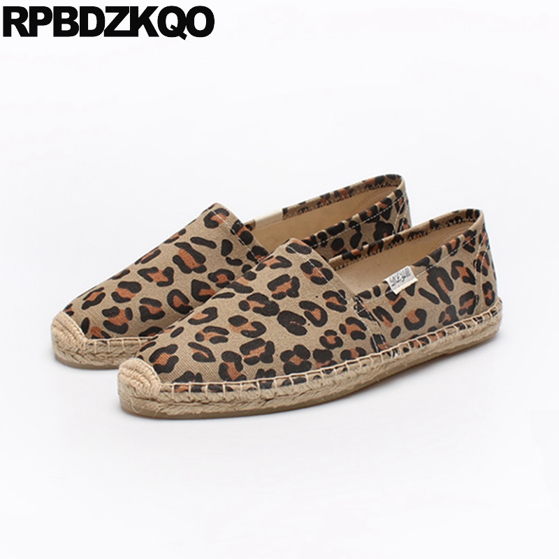 172a3cfa8 Detail Feedback Questions about Women Summer Canvas Espadrilles Shoes  Pineapple Slip On Hemp Large Size Polka Dot Flats Designer China 2018 Leopard  Print ...