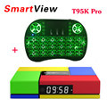 [Genuine] T95K PRO 2GB 16GB Amlogic S912 Octa Core Android 6.0 TV BOX 2.4G/5GHz Dual WiFi BT4.0 KODI Load 4K H.265 Media Player