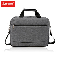 Soomile new Laptop Bag 15.6 inch USB interface Notebook shoulder bag 2018 brand Office Business Briefcase drop shipping