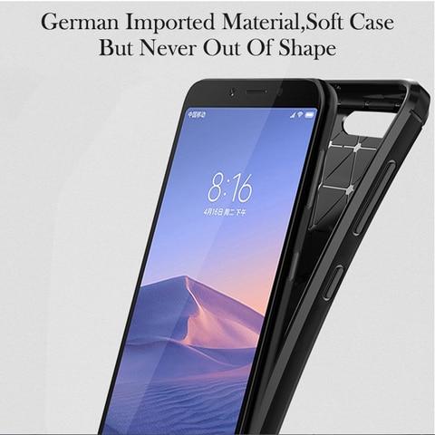 "For Honor 7A  5.45""Case Carbon fiber Cover Full Protection Phone Case For Huawei Y5 2018 Honor 7 A DUA-L22 Cover Flex Bumper Karachi"