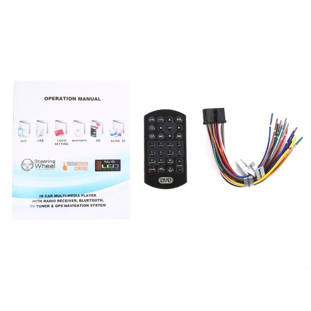 6.95 inch Wince Double Din 1080P Car Radio Universal Car Audio Car Stereo Auto USB Bluetooth