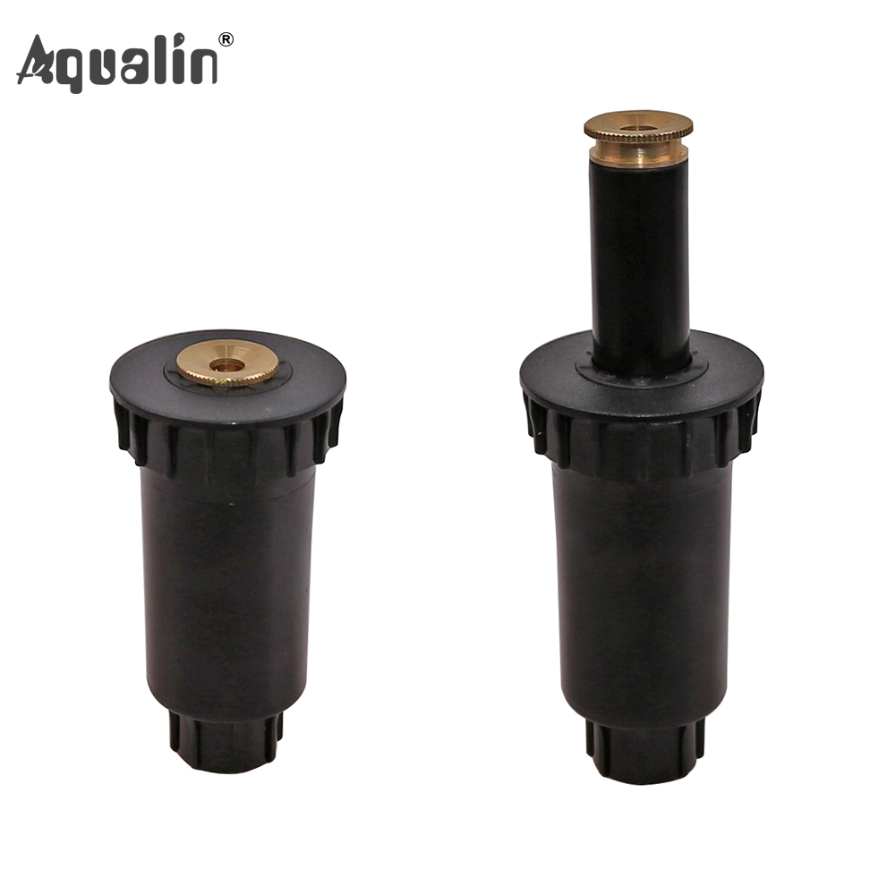 90 360 Degree 4Pcs/lot Garden Lawn Sprinkler  Automatic Retractable Spray Irrigation System Copper Nozzle #GW00107-in Garden Sprinklers from Home & Garden
