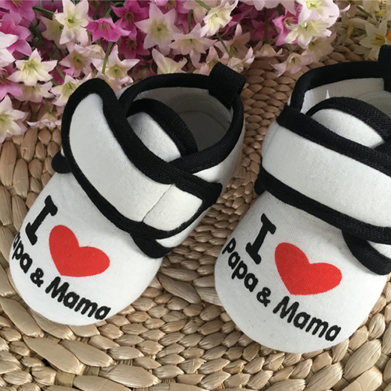 PEGGY PIGGY Newborn Shoes Photo props Girls Cotton Lace Baby Shoes Flower First Walkers Baby Girl Toddler Ballerina Slippers