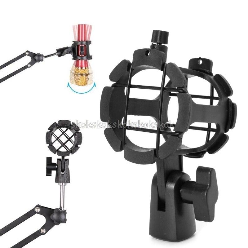 ZuverläSsig Nb04 Erträglich Handheld Kondensator Mikrofon Shock Mount Clip Mic Halter Stehen D03 Dropship Mikrofonstativ