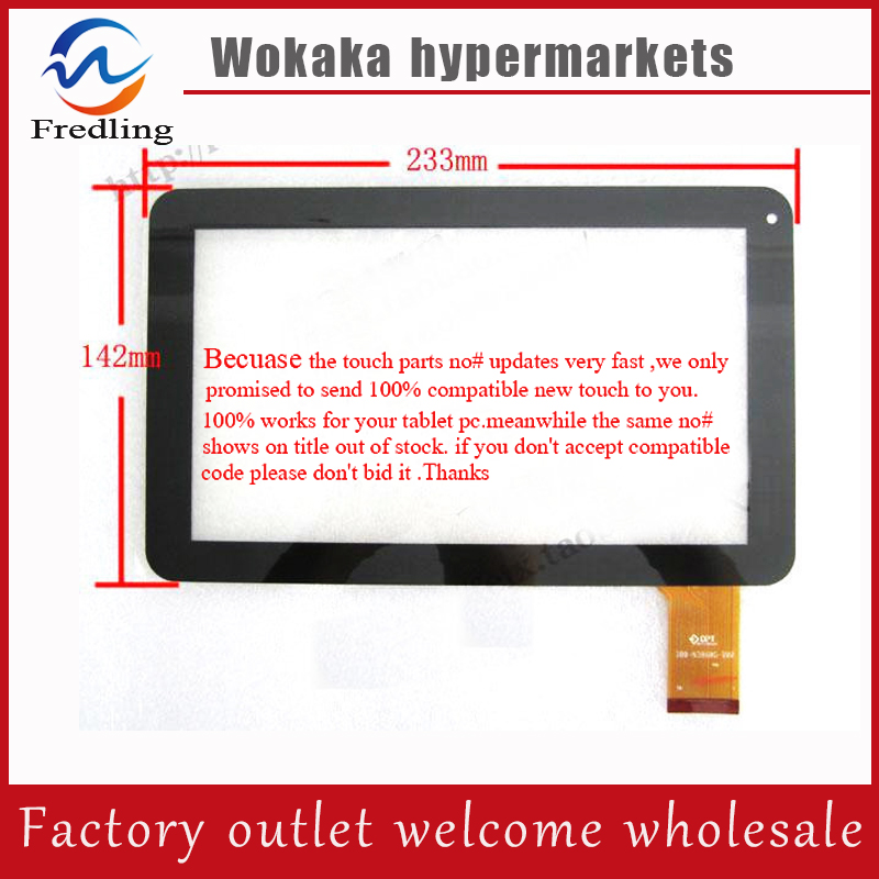 Original New touch screen For 9 inch iGET SCHOOL N9B Tablet Touch panel Digitizer Glass Sensor replacement Free Shipping new touch screen touch panel glass digitizer replacement for 9 inch cce t935 e foston m988 tablet free shipping