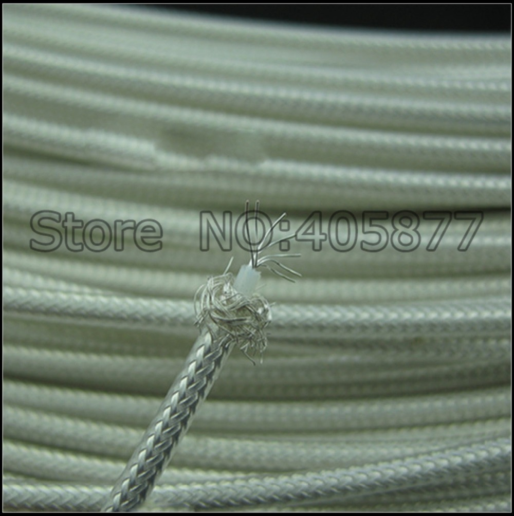5M High Quality 7Cores Silver Plated Audio Video Cable DIY Audio Cable Per meter