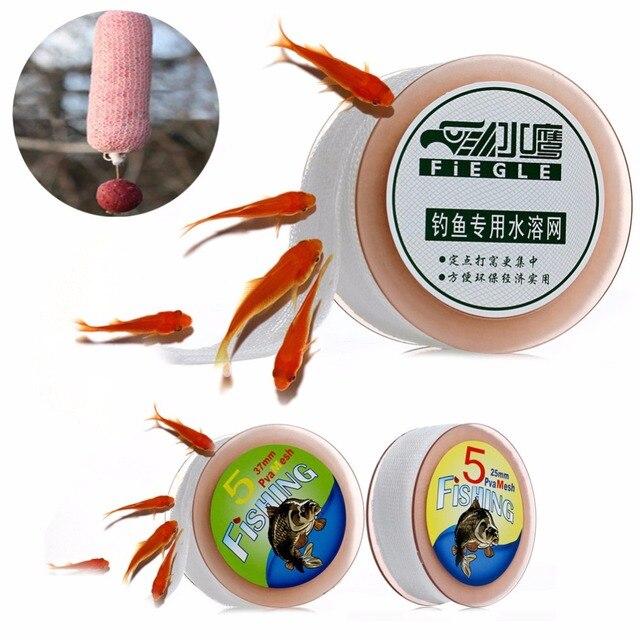 5 M Carp Fishing PVA Malha Refill Boilie Rig Isca de Lotação Envoltório Sacos