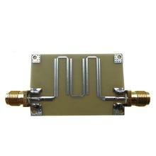 2.4GHZ microstrip filtro passa banda