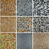 10 Colors Available Colorful Mini Ceramic Mosaic Tile For Bathroom Shower Tiles Living Room Wall Tile