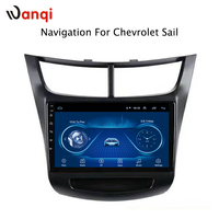 9 inch Android 8.1 full touch screen car multimedia system for Chevrolet Sail 2015 2018 car gps radio navigation