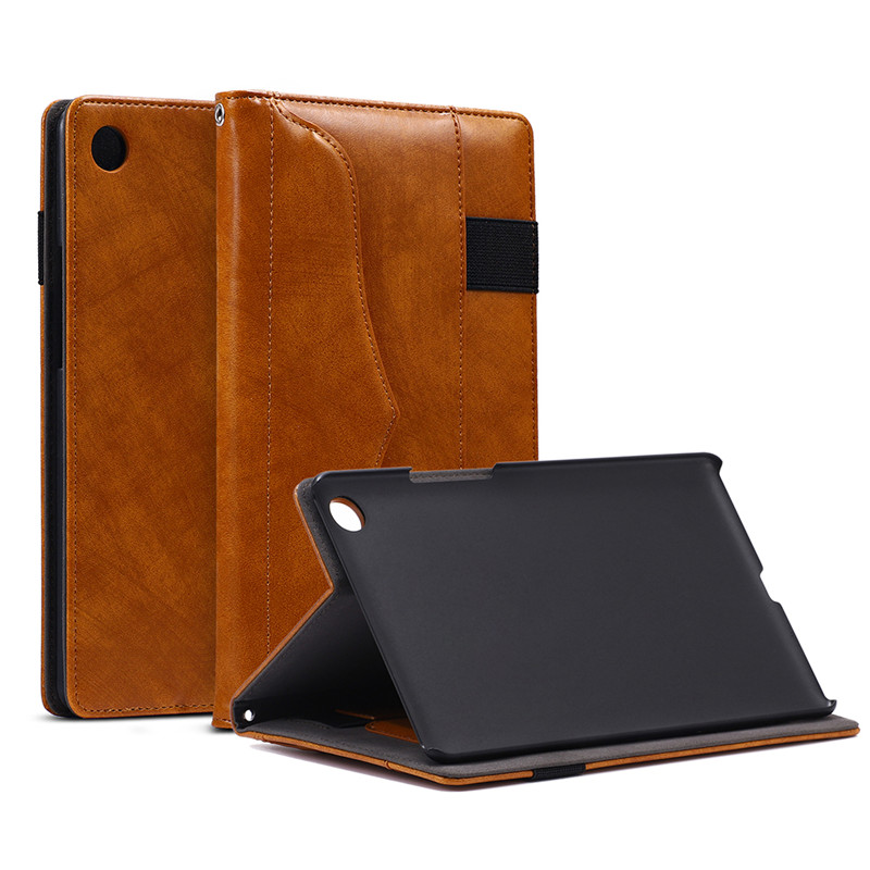 Business Handheld Leather Case For Huawei Mediapad Flip Stand Tablet Protective Shell For Huawei Mediapad M5 8.4