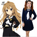 Rolecos USA Size XXXL Toradora Aisaka Taiga Cosplay Costume Anime School Uniform for Girls