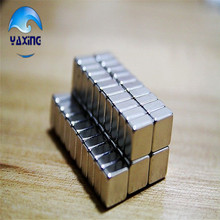 50pc neodymium magnet cube 10 x 10 x 5mm Super Strong Rare Earth Permanet Magnet Powerful Block Neodymium Magnets