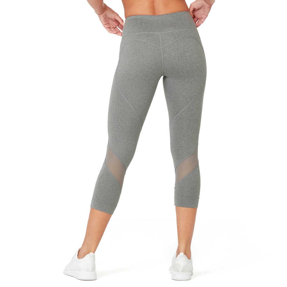 Vutru, mallas deportivas sin costuras para mujer, pantalones de Yoga para Fitness, mallas elásticas de cintura alta, mallas de malla para mujer, ropa deportiva de retales