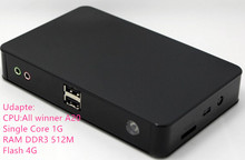 Free shipping Linux Thin Client network terminal Cloud computer Mini PC Station FL100 All Winner A20 512M RAM Linux 3.0 RDP 7.0