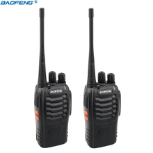 2 stuks Baofeng BF 888S Walkie Talkie Draagbare Radio BF888s 16CH UHF 400 470MHz BF 888S Comunicador Zender transceiver baofeng