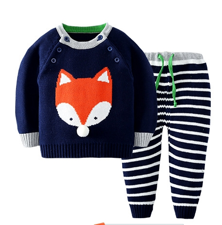 2017-Girl-Boy-Knitting-Winter-Sweater-Kid-Knit-Jacket-Long-Sleeve-Baby-Clothes-2-pieces-Top-Pants-5