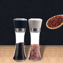 2019 New Kitchen Salt And Pepper Grinder 6oz Stainless Steel Mill Shakers Easy to Use Fil a715