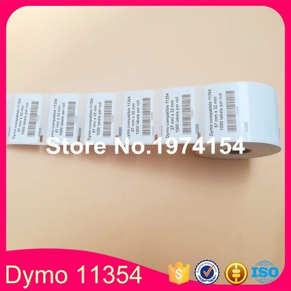 zu Dymo 11354  57 x 32 mm 1000 Label Etiketten pro Rolle 1x Label kompat