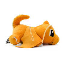 New Style Crouching Dragonite Cartoon Anime Plush Toy Soft Stuffed Dolls Gift For Childrens Christmas Free Shipping 25cm
