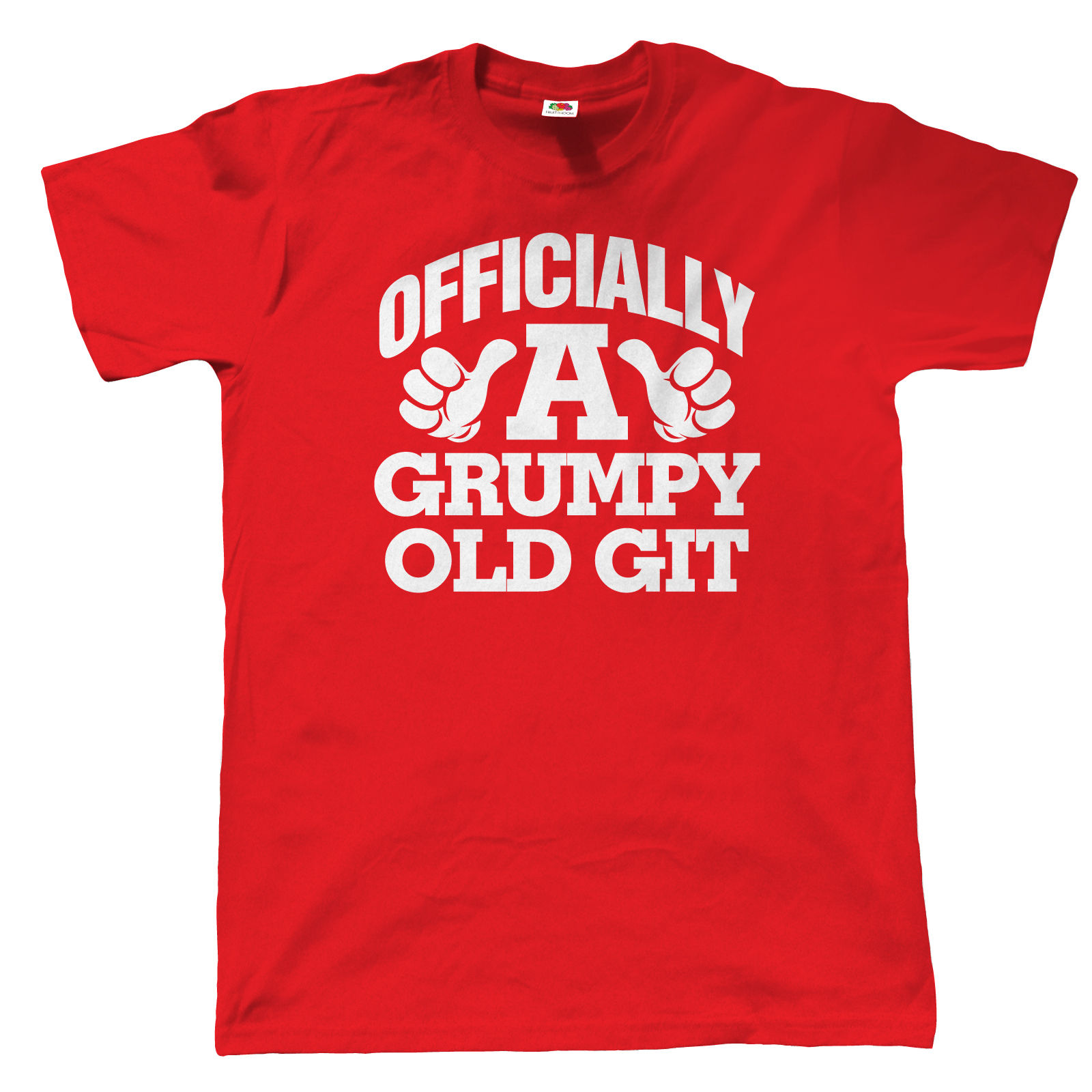 officially a grumpy old git funny t shirt for men - for fathers day
