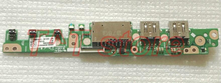 original for Q405UA Power Button Board Usb Card Reader board test good free shipping original for vostro 5568 power botton usb vga card reader board ls d821p test good free shipping