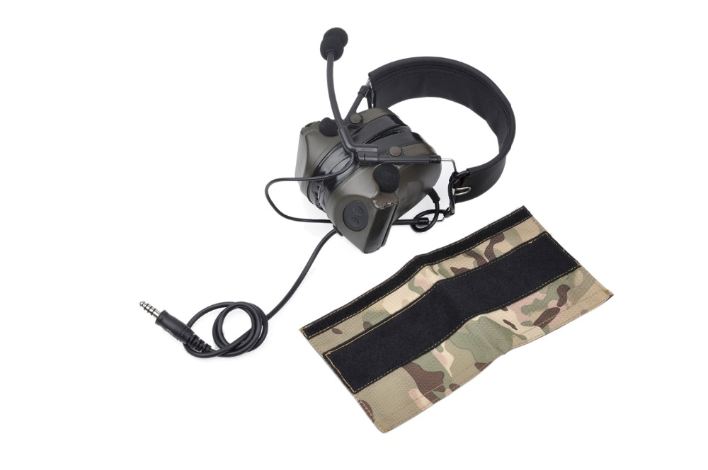 Acecare High Quality Comtac II headset 2017 version anti-noise for hunting outdoor fold ear outdoor CS field shooting game
