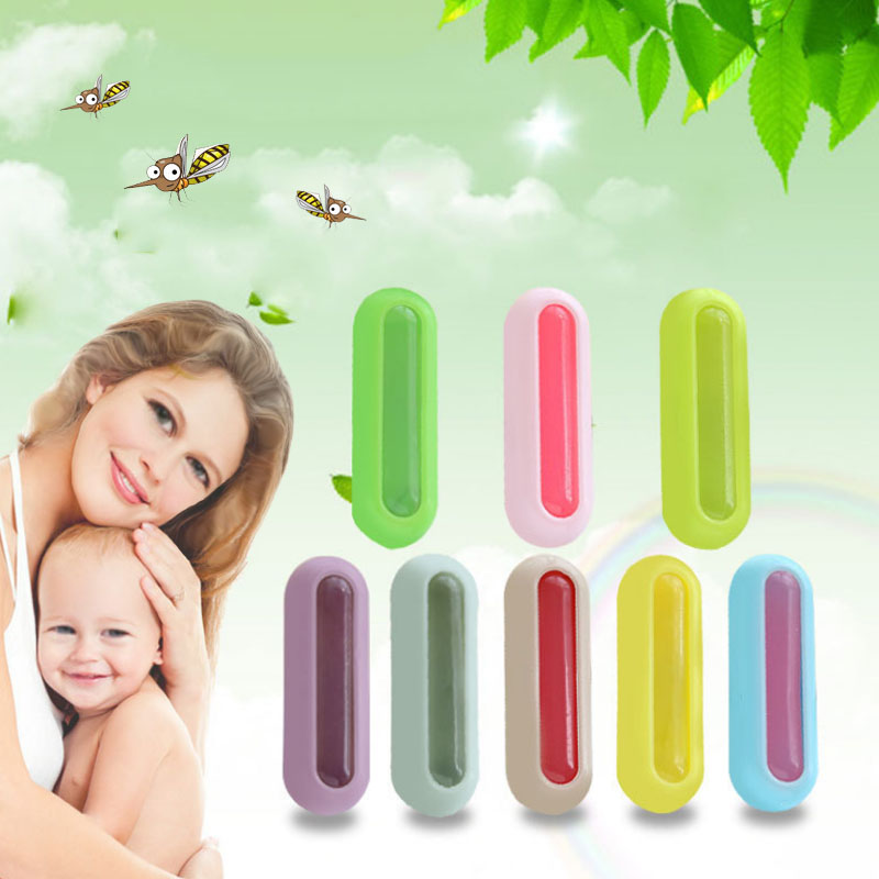 Color Women Drive 1PC Repellent Buckle Anti-mosquito Cute Baby Practical Trendy Midge Button Clothes Accessories ...