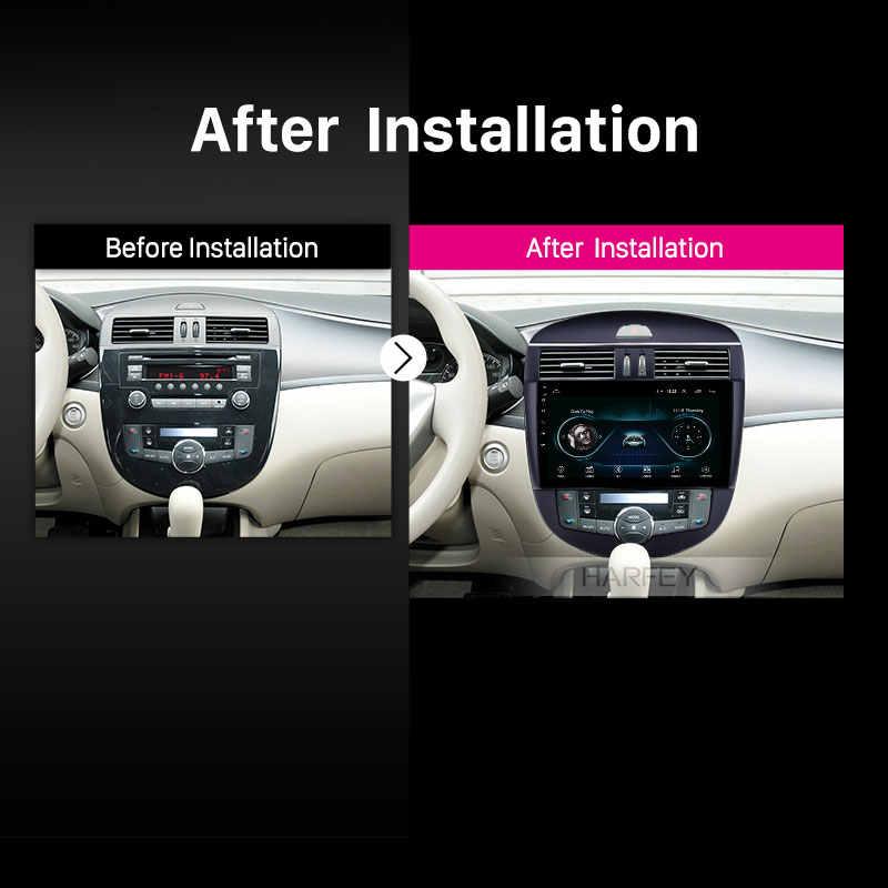"""Harfey ステレオ 10.1 """"HD GPS アンドロイド 8.1 カーマルチメディアプレーヤー日産ティーダ自動 A/C 2011- 2014 GPS サポート Carplay リアカメラ"""
