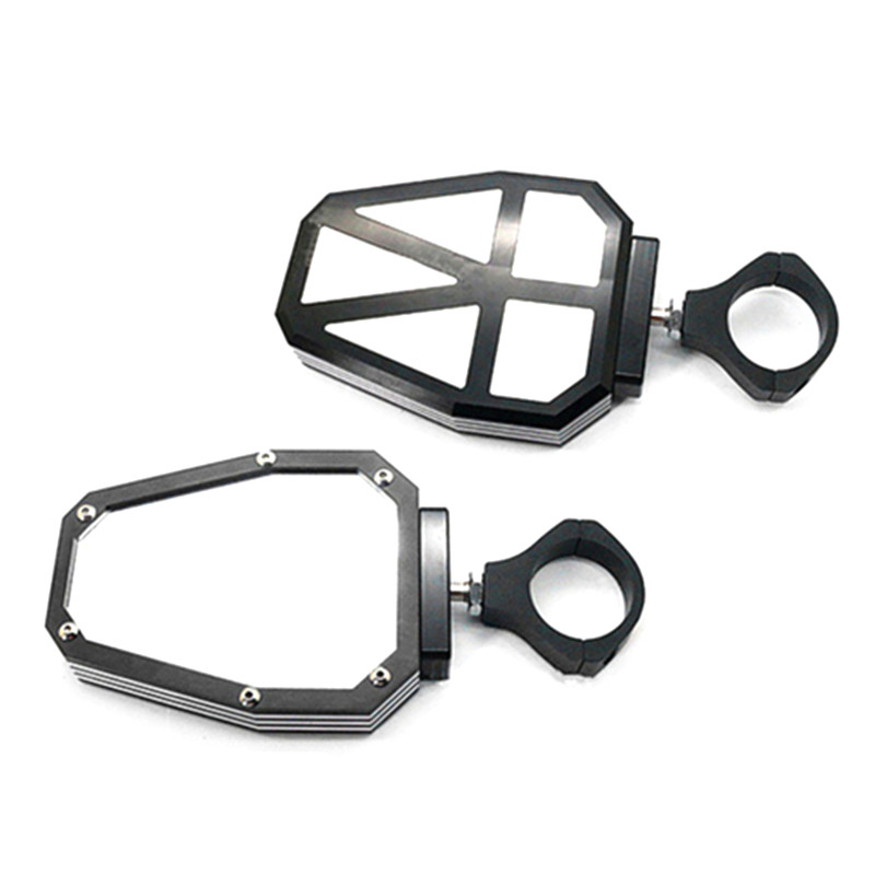 For Polairs RZR 1000 XP 1.75 UTV SXS Roll Cage Side Mirrors Rearview Convex for Can Am Commander 1000