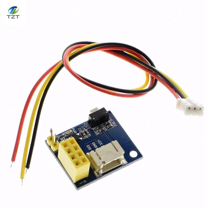 ESP8266 ESP-01 ESP-01S RGB LED Controller Module for Arduino IDE WS2812 Light Ring Smart Electronic DIY