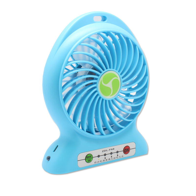 fan battery. ZDL F68 Portable Mini USB Fan Rechargeable Battery Operated Table Small Hand Fans With 18650 + Free Shipping-in From Home Improvement R