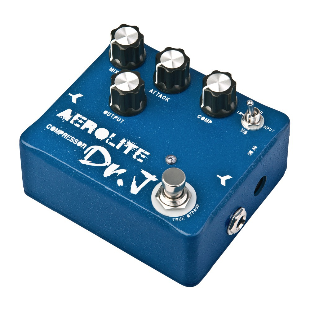 Dr. J Aerolite Compressor Hand Made Electric Guitar Effect Pedal efeito True Bypass D-55 D55 aroma adr 3 dumbler amp simulator guitar effect pedal mini single pedals with true bypass aluminium alloy guitar accessories