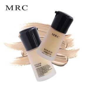 Image 5 - MRC Full Coverage Make Up Fluid Concealer Whitening Moisturizer Oil Control Waterproof Liquid Foundation Base Makeup