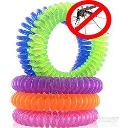 Pulseras repelentes de mosquitos 10 unids/pack repelente de Control de plagas hasta 240 horas de protección de insectos al aire libre adultos interiores niños
