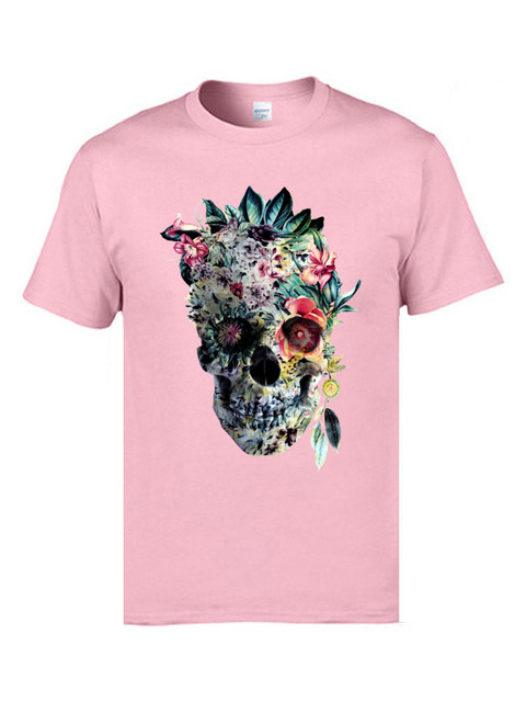 Voodoo Flower Skull Short Sleeve Casual Top 8