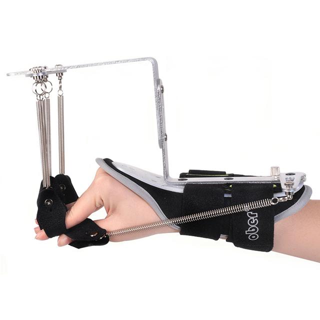 Ajustável Dedo Órteses de Pulso Exercitador Reabilitação Dispositivo Para Trombose Infarto Cerebral Avc 1 Peça