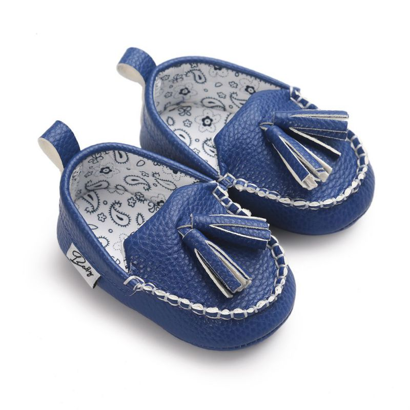 abaf49b099096 2019 PU Leather Baby Shoes Infants Girl Boy Soft Sole First Walker 0-18Month