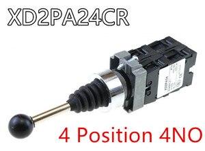 Image 5 - 4NO 4 pozycja krzyż przełącznik kołyskowy XD2PA14 XD2PA24 joystick kontrolery/2NO 2 pozycja przełącznik kołyskowy XD2PA12 XD2PA22