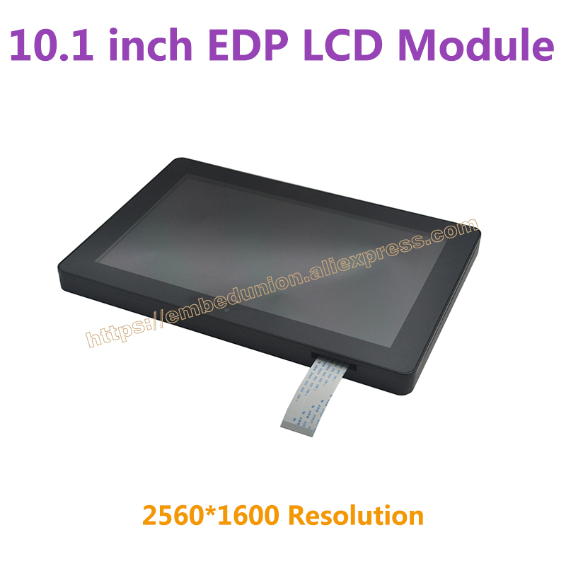 10.1 inch HD EDP LCD Display Module 2560*1600 Resolution with touch screen ,fit with X3399 Development Board new m200rw01v 3 lcd screen resolution 1600 x900 m200rw01v3
